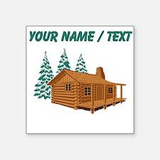 Custom Cabin In The Woods Sticker