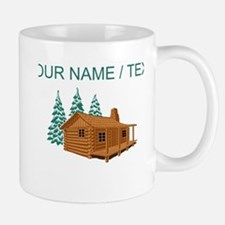 Custom Cabin In The Woods Mugs