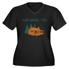 Custom Cabin In The Woods Plus Size T-Shirt