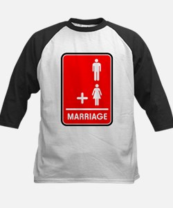 Man Plus Woman Equals Marriag Tee
