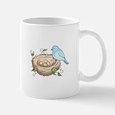 BIRD AND NEST Mugs