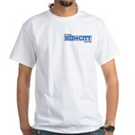 Mid City White T-Shirt