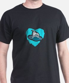BELUGA WHALE IN HEART T-Shirt