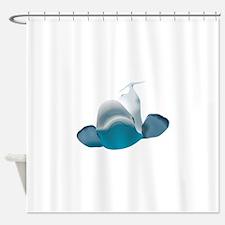 BELUGA WHALE Shower Curtain