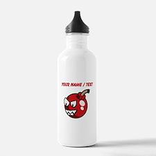 Custom Cartoon Cherry Bomb Water Bottle