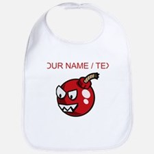 Custom Cartoon Cherry Bomb Bib