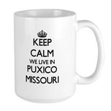 Keep calm we live in Puxico Missouri Mugs