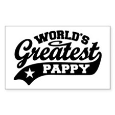 World's Greatest Pappy Decal