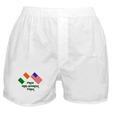 Cute Fenian Boxer Shorts