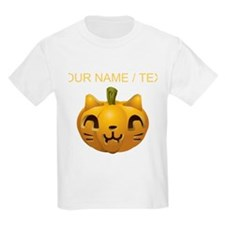 Custom Cat Jackolantern T-Shirt