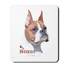 Boxer (Cropped) Mousepad