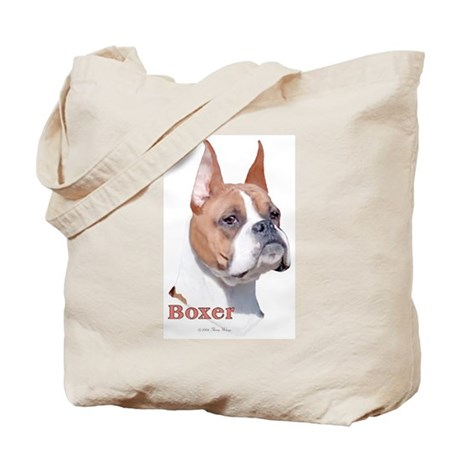 Boxer (Cropped) Tote Bag