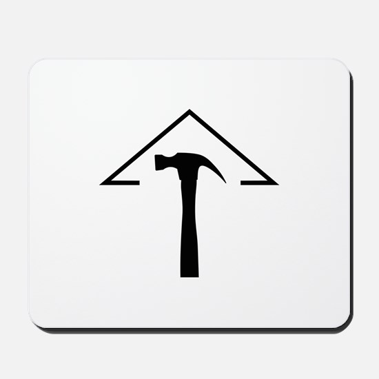 ROOF AND HAMMER Mousepad