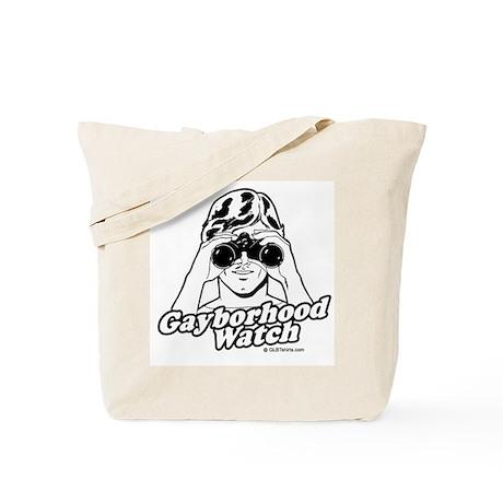 Gayborhood watch Tote Bag