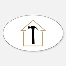 HOUSE AND HAMMER Decal
