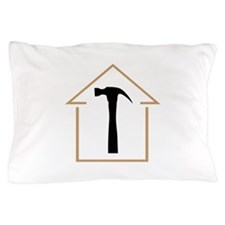 HOUSE AND HAMMER Pillow Case