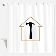 HOUSE AND HAMMER Shower Curtain