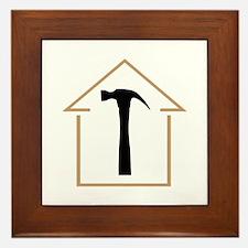 HOUSE AND HAMMER Framed Tile