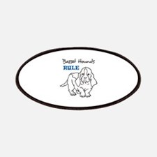 BASSET HOUNDS RULE Patches