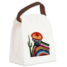 Mexican pug dog Canvas Lunch Bag