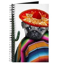 Mexican pug dog Journal