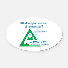 YoYoDyne1 Oval Car Magnet