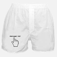 Custom Mouse Pointer Boxer Shorts