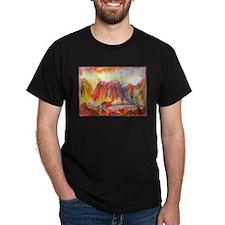 Landscape, colorful southwest art T-Shirt