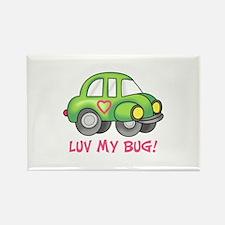 LUV MY BUG Magnets
