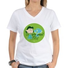 Lucy Van Pelt Women's V-Neck T-Shirt