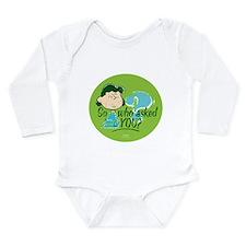 Lucy Van Pelt Long Sleeve Infant Bodysuit