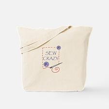 Sew Crazy Tote Bag