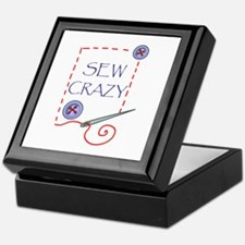 Sew Crazy Keepsake Box