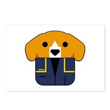 Captain Porthos Postcards (Package of 8)