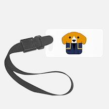 Captain Porthos Luggage Tag