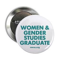 "Women and Gender Studies Graduate 2.25"" Button"