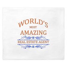 Real Estate Agent King Duvet
