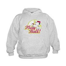 Play Ball Snoopy Hoodie