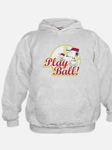 Play Ball Snoopy Hoody