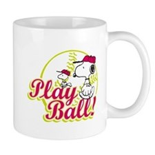 Play Ball Snoopy Mug