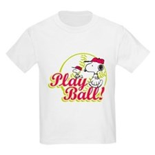 Play Ball Snoopy T-Shirt