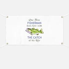 ONE FINE FISHERMAN Banner