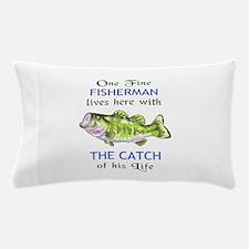 ONE FINE FISHERMAN Pillow Case