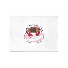 COFFEE CUP 5'x7'Area Rug