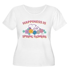 Snoopy Flower T-Shirt
