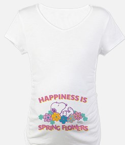 Snoopy Flowers Shirt