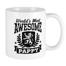 World's Most Awesome Pappy Mug