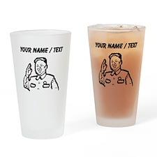 Custom Kim Jong Un Drinking Glass