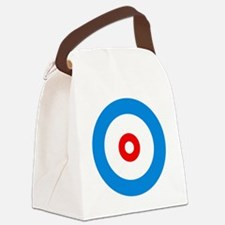 The spirit of Curling Canvas Lunch Bag