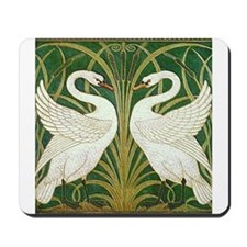 SWANS GREEN Mousepad